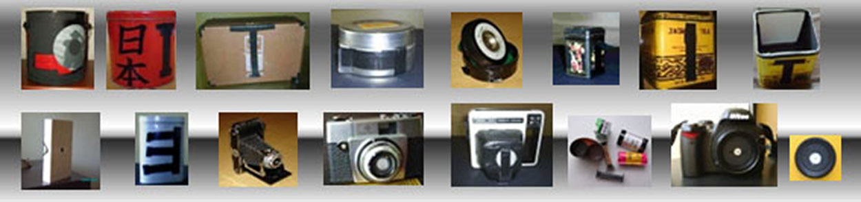 Câmeras pinholes diversas