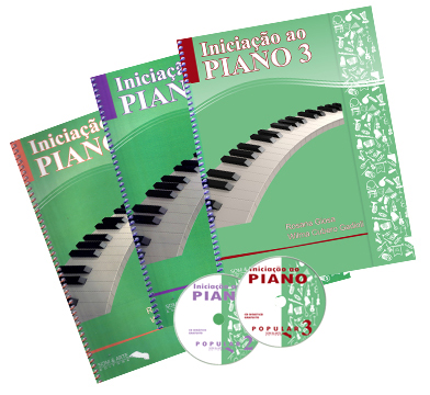 Kit Iniciação ao Piano Popular