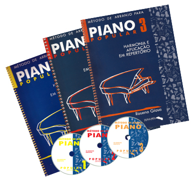 Kit Método de Arranjo para Piano Popular