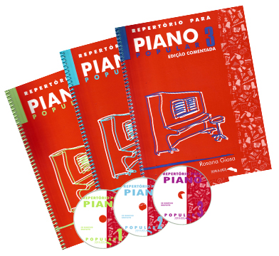 Kit Repertório para Piano Popular