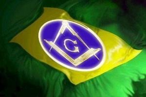BANDEIRA BRASILEIRA MAÇONICA