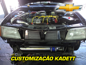 Customização CHEVROLET KADETT - FOLEGO TURBO