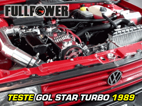 Teste VW GOL STAR TURBO - FOLEGO TURBO
