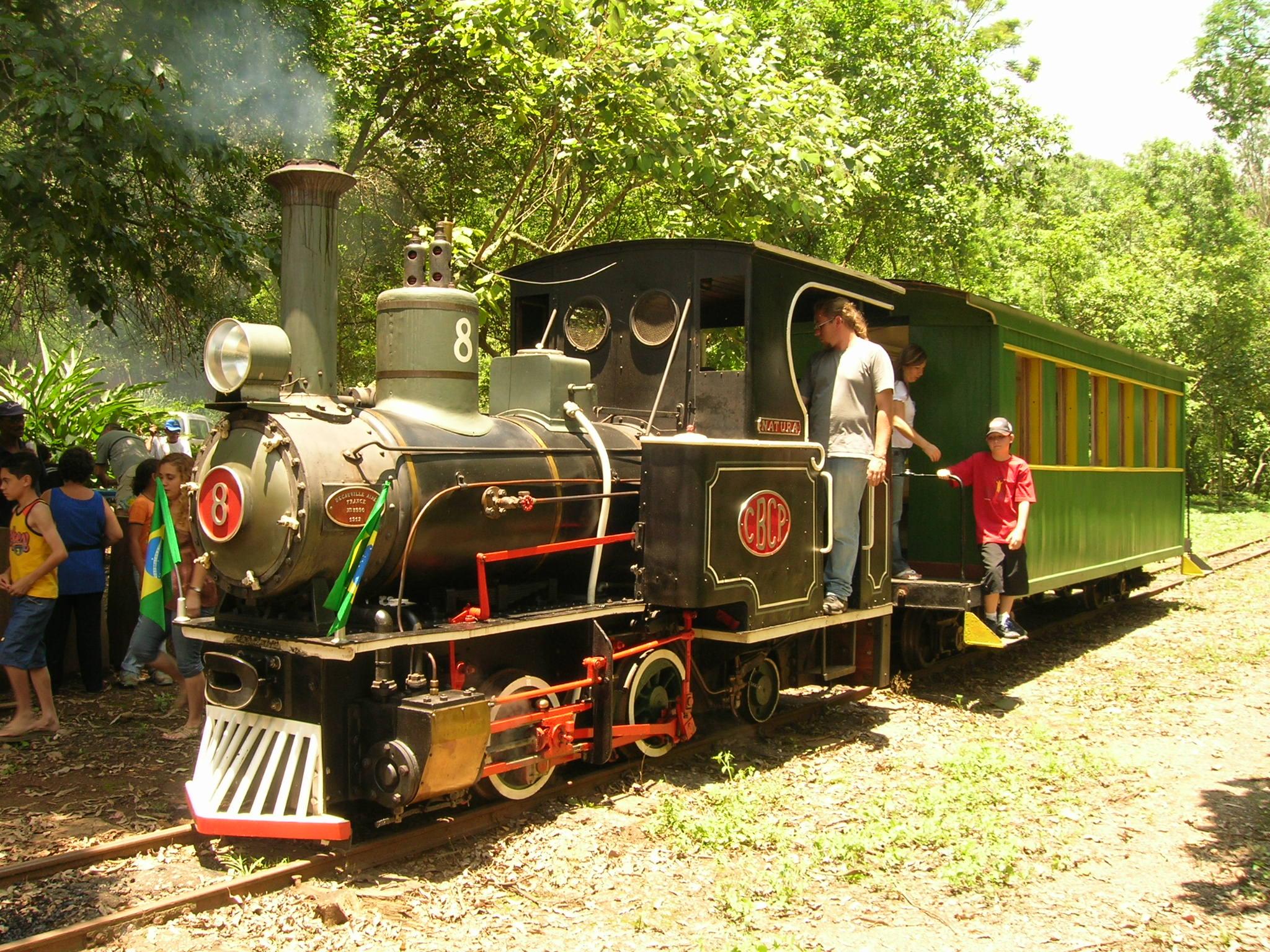 Trem turístico a vapor da Perus Pirapora